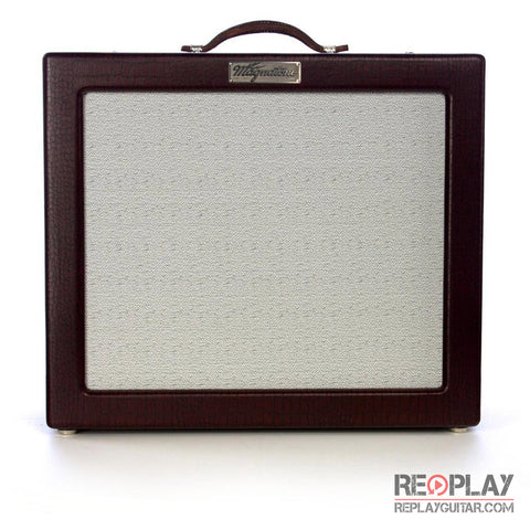 Magnatone Varsity 112 Extension Cabinet (TV Front Burgundy)