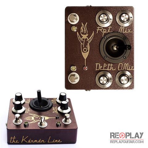 Hungry Robot - The Karman Line (Joystick Delay/Oscillation Device)