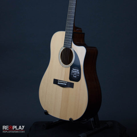 Fender CD-60CE Natural with Case