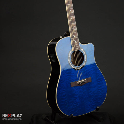 Fender T-Bucket 300CE Transparent Blue