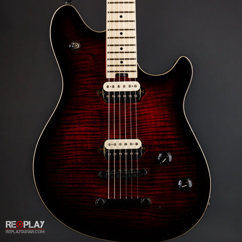 EVH Wolfgang Special Tom Burnt - Cherry Burst