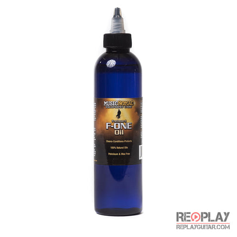 Music Nomad Fretboard F-ONE Oil - Cleaner & Conditioner - 8 oz.
