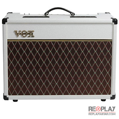 Vox AC15C1WB Limited White Bronco