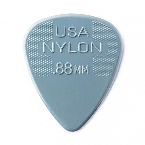 Dunlop Nylon .88mm Guitar Pick, 12-Pack