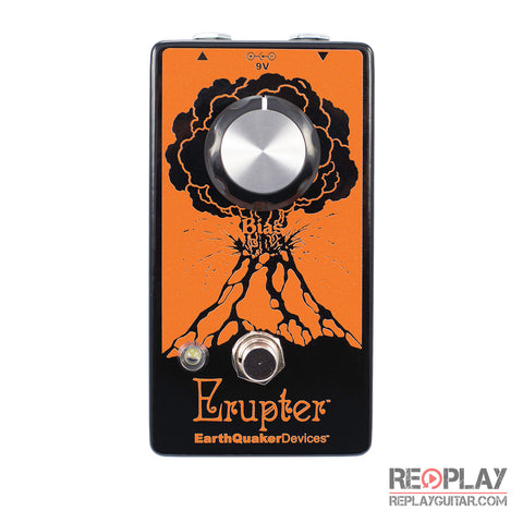 EarthQuaker Erupter Fuzz Pedal *Open Box*