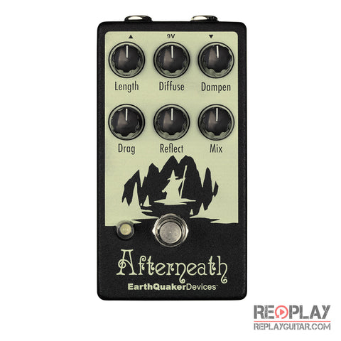 EarthQuaker Afterneath Otherworldly Ambient Reverb Pedal