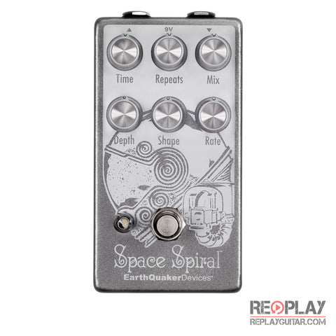EarthQuaker Space Spiral Modulated Delay Pedal *Open Box*
