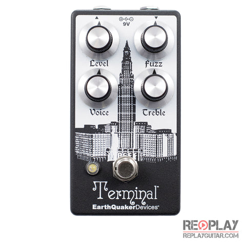EarthQuaker Terminal Destructive Fuzz Pedal