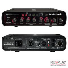 TC Electronic RH750 bass head