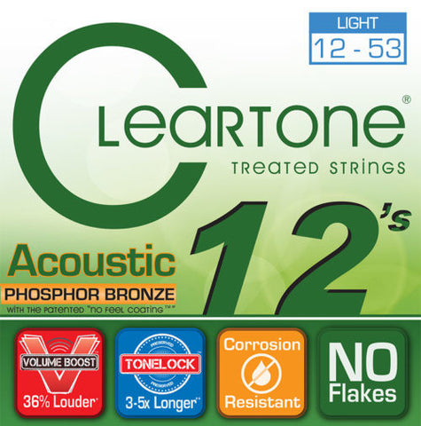 Cleartone Light Acoustic Guitar Strings