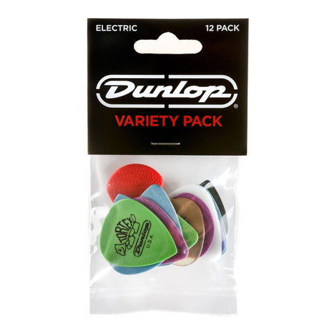 Dunlop Guitar Pick Variety Pack, 12-Pack