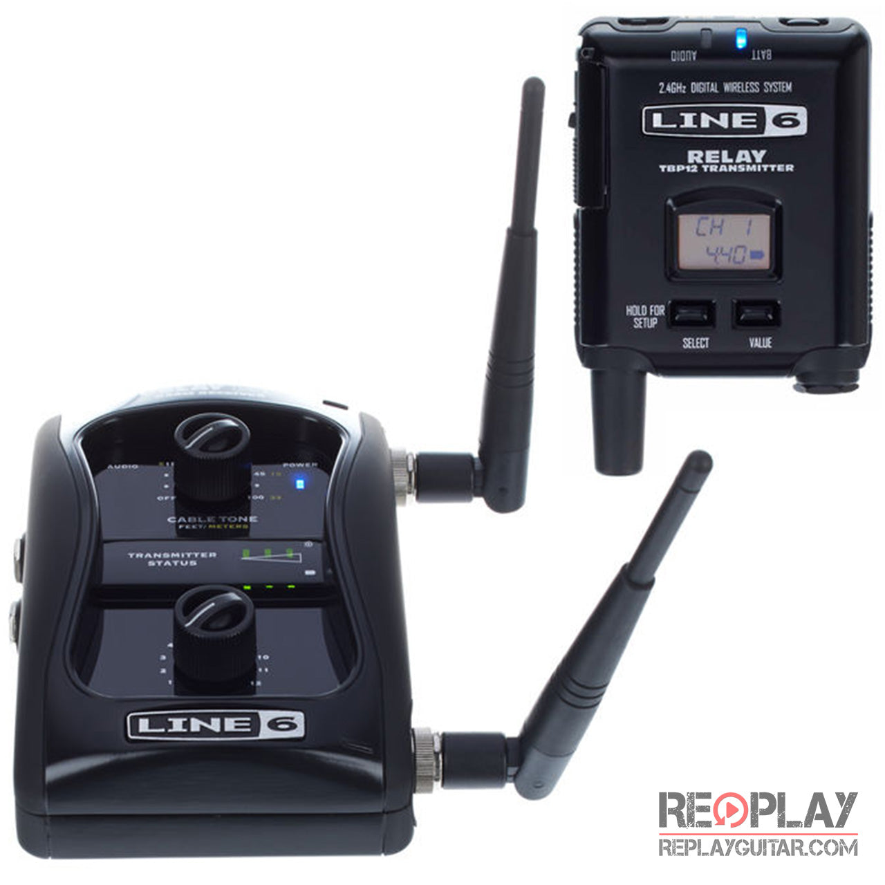 Line 6 - Relay G50 12 Channel Guitar Wireless System