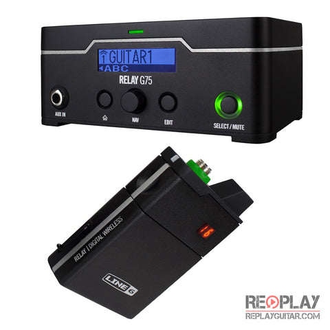 Line 6 - Relay G75 Guitar Wireless System