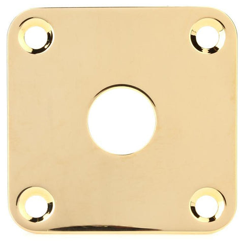 Gibson Guitar Jack Plate, Gold