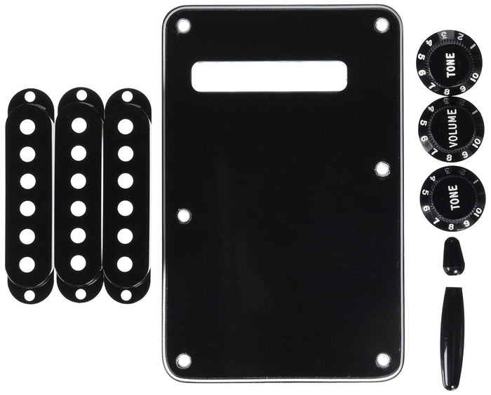 Fender STRATOCASTER ACCESSORY KITS - Black