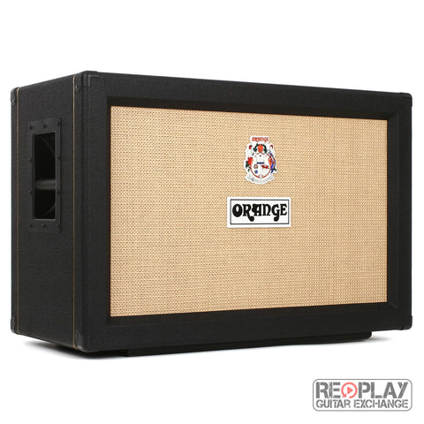 Orange PPC212C speaker cabinet - black