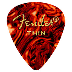 Fender 351 Shape Thin Classic Pick, 12-Pack
