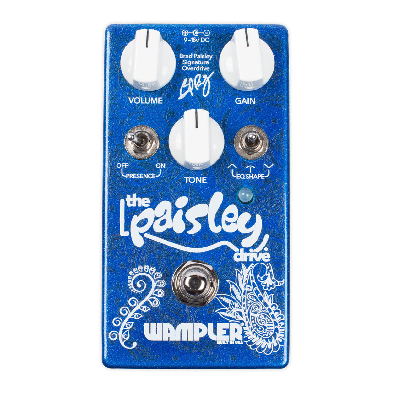 Wampler - Paisley Drive Overdrive Pedal