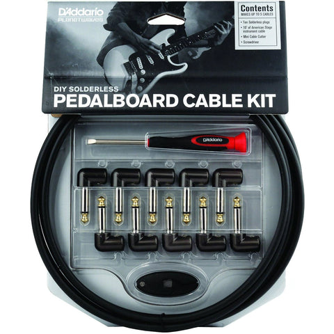 Planet Waves PW-GPKIT-10 Cable Station Pedalboard Cable Kit