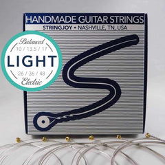 Stringjoy Electric Nickel Balanced Light Gauge