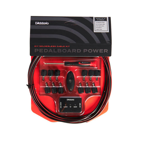 Used D'addario PW DIY Solderless Pedalboard Power Cable Kit