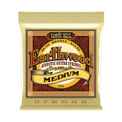 Ernie Ball Earthwood Medium 80/20 Bronze Acoustic Strings, 13-56 Gauge