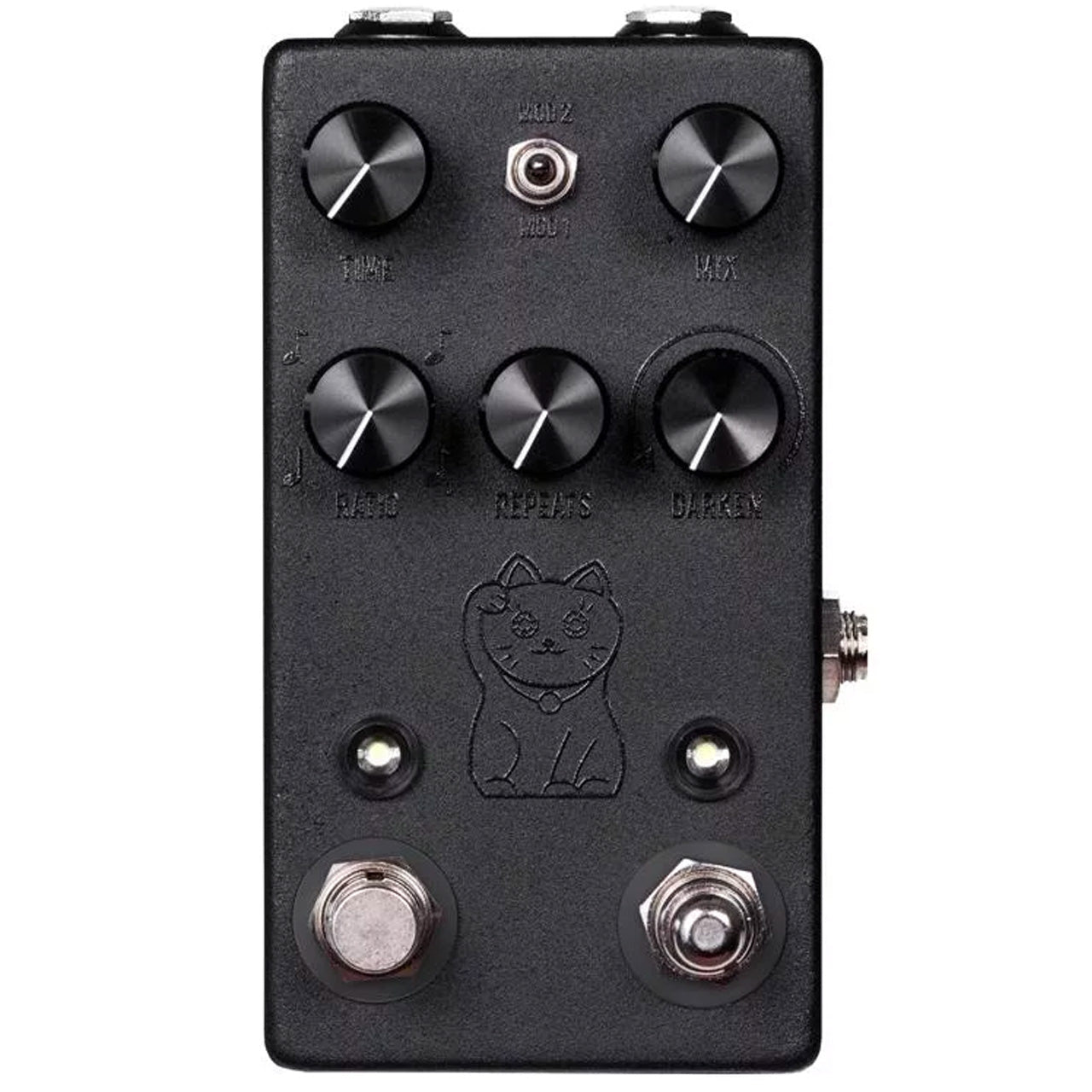 JHS Pedals Lucky Cat Delay, Black Variation