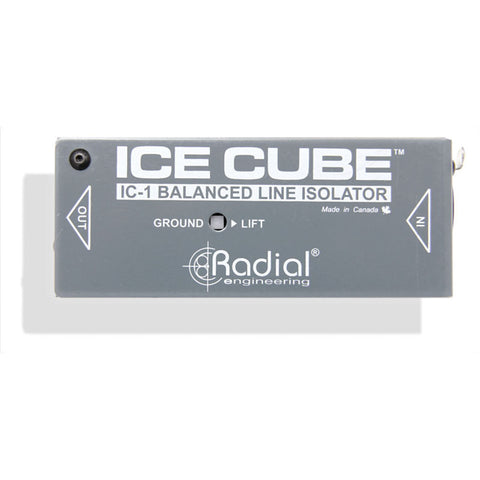 Radial IceCube IC-1 Balanced Line Isolator and Hum Eliminator