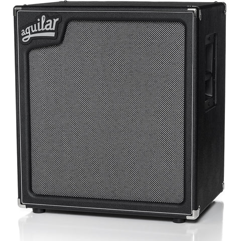 Aguilar SL 410x Super Light Bass Speaker Cabinet, 8 ohms, angle