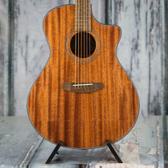 Breedlove Wildwood Concerto Satin CE Acoustic/Electric, Mahogany Stain