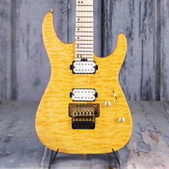 Charvel Pro-Mod DK24 HH FR M Mahogany With Quilt Maple, Dark Amber