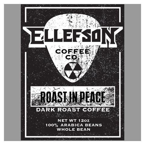 David Ellefson Roast In Peace Coffee