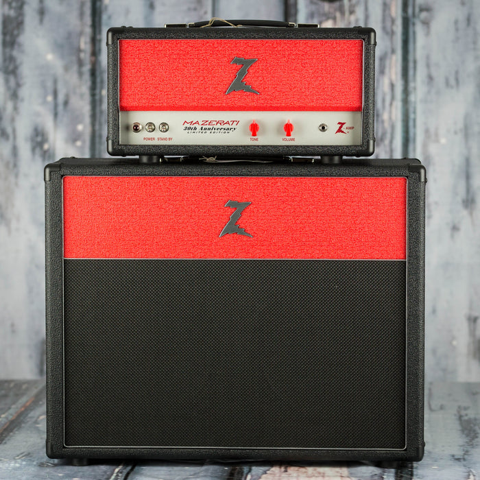 Dr. Z Limited Edition 30th Anniversary Mazerati Amplifier, Black and Red