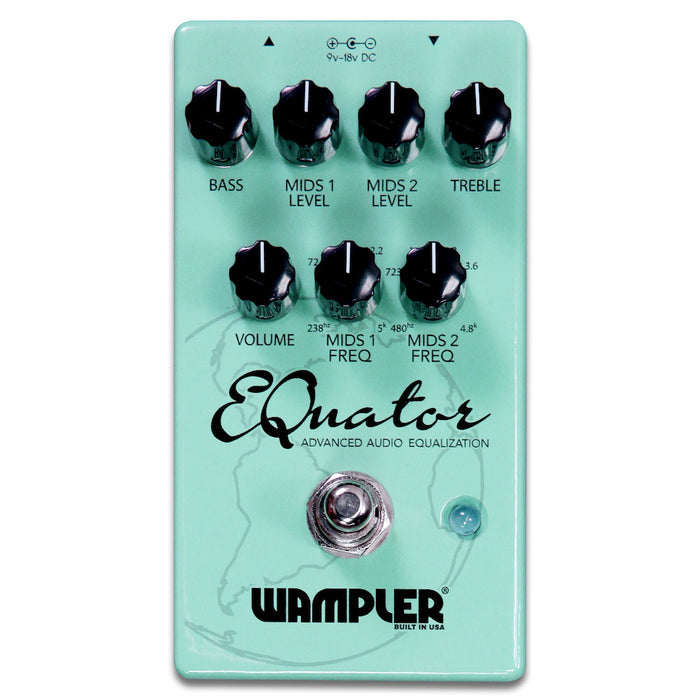 Wampler EQuator — Advanced Audio Equalizer *Demo Model*