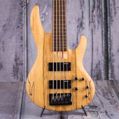 ESP LTD B-205SM 5-String Electric Bass, Natural Satin