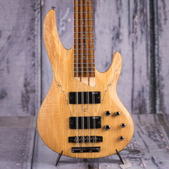 ESP LTD B-208SM Eight-String Electric Bass, Natural Satin