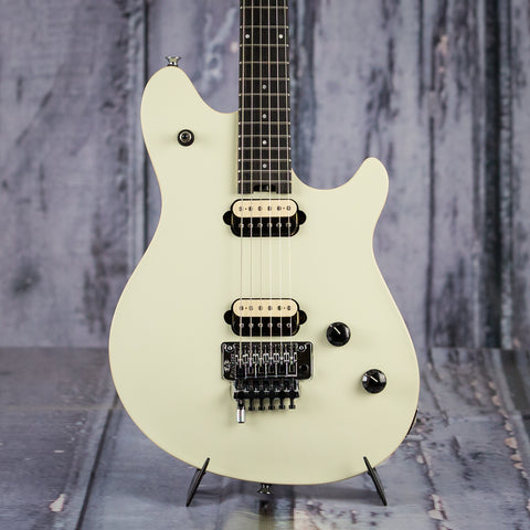 EVH Wolfgang Special, Ebony Fingerboard, Ivory, front closeup