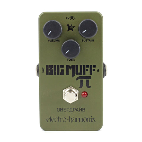 ElectroHarmonix Green Russian Big Muff distortion