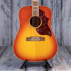 Epiphone Hummingbird 12-String Acoustic/Electric, Aged Cherry Sunburst Gloss