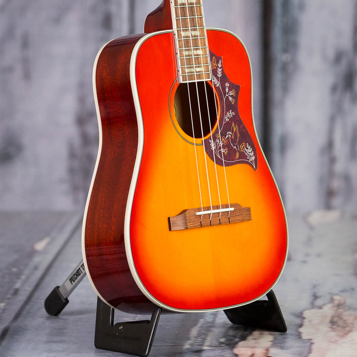 epiphone hummingbird tenor acoustic electric uke faded cherry for sale replay guitar. Black Bedroom Furniture Sets. Home Design Ideas