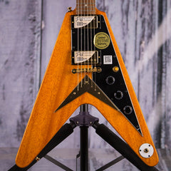 Epiphone Limited Edition Joe Bonamassa 1958 Amos Korina Flying V, Antique Natural