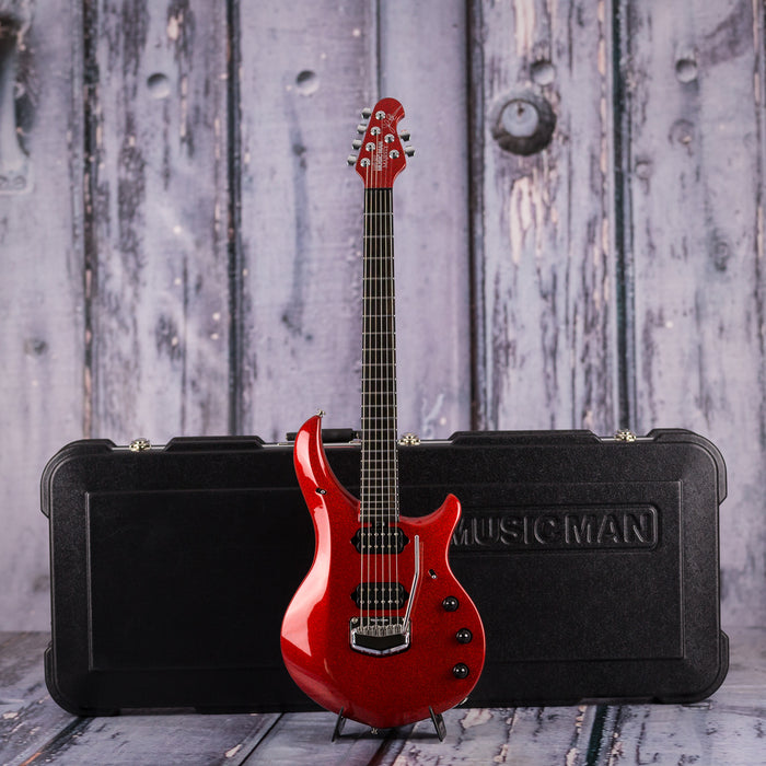 Ernie Ball Music Man BFR John Petrucci Majesty, Cinnabar Red Sparkle