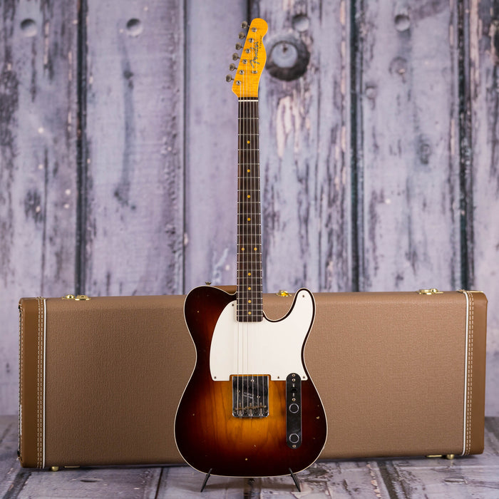 Fender 1959 Journeyman Relic Esquire Custom, Wide-Fade Chocolate 3-Color Sunburst