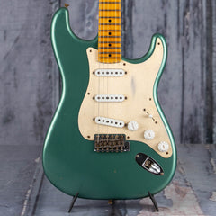 Fender 2019 Limited Edition '55 Dual-Mag Strat Journeyman Relic, Super Faded Aged Sherwood Green Metallic