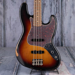 Fender 60th Anniversary Road Worn Jazz Bass, 3-Color Sunburst
