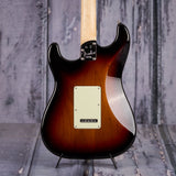 Fender American Elite Stratocaster, Ebony Fingerboard, 3-Color Sunburst, back closeup