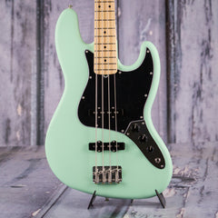 Fender American Performer Series J-Bass, Maple, Satin Surf Green