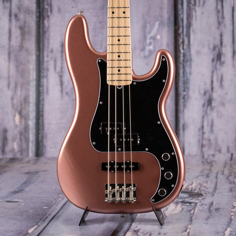 Fender American Performer Series Precision Bass, Maple Fingerboard, Penny, front closeup