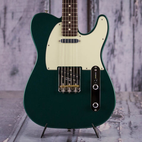 Fender American Special Telecaster, Sherwood Green Metallic, front closeup