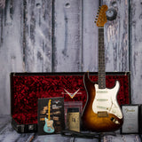 Fender Artisan Tamo Ash Strat, Sunburst, Custom Shop case + case candy